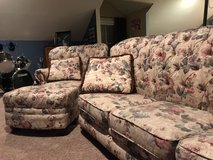 Couch, chair & ottoman in Fort Campbell, Kentucky