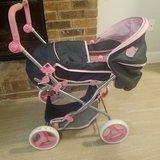 Doll Stroller With Removable Doll Carrier x2 in Chicago, Illinois