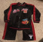 Disney Cars Lightning McQueen 2pc Set size 4T in Fort Benning, Georgia