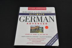 Complete advanced German course (tapes and book) in Stuttgart, GE