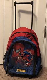 Spider-Man Mini Backpack with Wheels in Fort Benning, Georgia