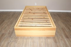 Twin Size Bed From Ikea - Wooden Frame in Kingwood, Texas