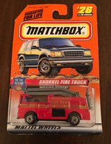 Matchbox Snorkel Fire Truck in Yorkville, Illinois