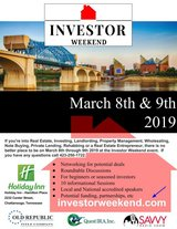 Investor Weekend -- Chattanooga March 8 -9 in Clarksville, Tennessee