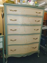 French Provincial Tall Dresser in Chicago, Illinois