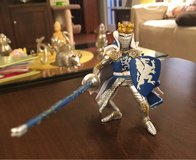 Blue/Silver Knight Figure in Aurora, Illinois