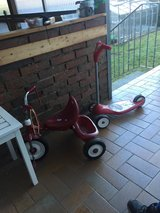 Scooter and tricycle in Stuttgart, GE