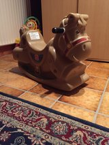 Rocking horse in Stuttgart, GE
