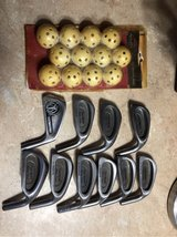 10 golf irons & practice balls in Macon, Georgia