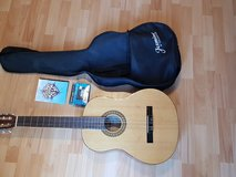 Guitar with Tuner and Case in Ramstein, Germany