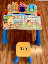 Vtech touch and learn activity desk delux in Okinawa, Japan