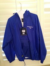 """Centennial Beach lined """"staff"""" jacket in Chicago, Illinois"""