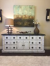 Gorgeous White Buffet/Dresser in Houston, Texas
