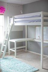 Children's Loft Bed and Twin Mattress in Houston, Texas