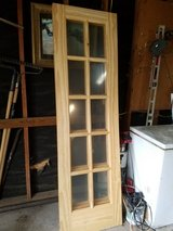 "SOLID WOOD French Doors 24"" wide 15 panel in Kingwood, Texas"