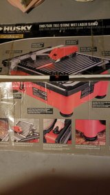 THD750L Tile / Stone Wet Laser Saw in Oswego, Illinois
