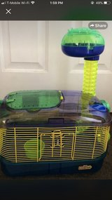 hamster cage in Oswego, Illinois
