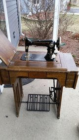 Antique sewing machine/ Wards Brunswick in Aurora, Illinois