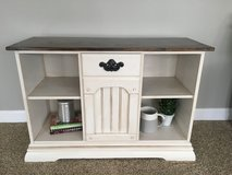 Refinished Console Cabinet in Chicago, Illinois