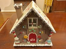 Advent gingerbread house in Conroe, Texas