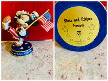 Disney Mickey Stars and Stripes forever Danbury mint in Lockport, Illinois