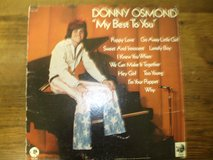 "Donny Osmond-""My Best To You"" 1972 LP Vinyl in Houston, Texas"