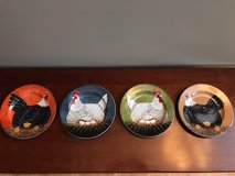 WARREN KIMBLE HENNY PENNY ROOSTER / CHICKEN DISH SET in Lockport, Illinois