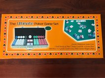 THE ULTIMATE POKER GAME SET - NEW IN BOX in Lockport, Illinois
