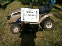 46 inch cut Craftsman Riding Mower OBO in Kingwood, Texas