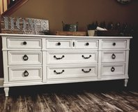 Large refinished long dresser/ TV Console in Chicago, Illinois