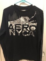 Men's Medium Aeropostale Blue Long Sleeve Shirt in Fort Belvoir, Virginia