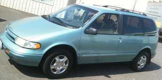 Nissan Quest minivan runs good, needs nothing - ready to work in Fort Lewis, Washington