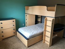 kids Bunk Bedroom Set in Fort Lewis, Washington