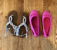 Girl crocs & sandals in Bartlett, Illinois