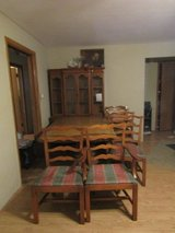 """Vintage table(41x60 and 3 12"""" leaves), 6 chairs, and china cabinet in Chicago, Illinois"""