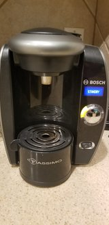 Tassimo Coffee Maker and holder in Spring, Texas