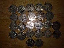 Silver dollars in Fort Leonard Wood, Missouri