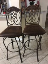 barstool chairs Wrought iron very beautiful, elegant. Like new in The Woodlands, Texas