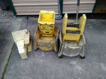 2 mop buckets in Fort Campbell, Kentucky