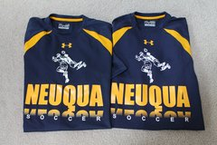 Neuqua Valley HS Soccer Blue/Gold Under Armour Loose Heat Gear - 2 Shirts Available in Chicago, Illinois
