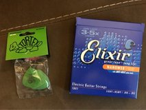Electic guitar strings and picks in Fort Campbell, Kentucky