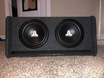 Black JL audio subwoofer with box in Fort Campbell, Kentucky