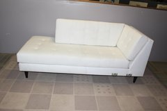 White chaise lounge in Kingwood, Texas