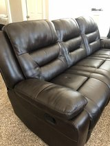 MOVING SALE! Reclining Couch in Kingwood, Texas