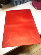 Red 100 pieces, big shopping bags, 33×15×46 in Okinawa, Japan