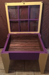 Custom All Wood Shadowbox Table in Leesville, Louisiana