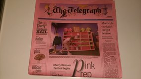 2009 Pink Cherry Blossom newspaper in Byron, Georgia