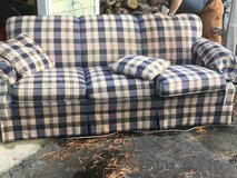 Queen Sized Sleeper Couch (Price drop) in Camp Lejeune, North Carolina