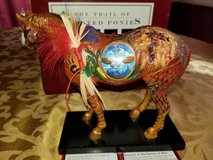 Trail of Painted Ponies Horse Figurine in Yorkville, Illinois