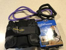 Exercise Equipment, body ball resistance kit, wrist weights & stretch band. in Camp Lejeune, North Carolina
